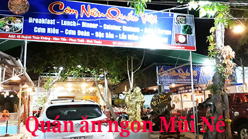 quán ăn ngon Mũi Né - Cơm Niêu Quán Việt